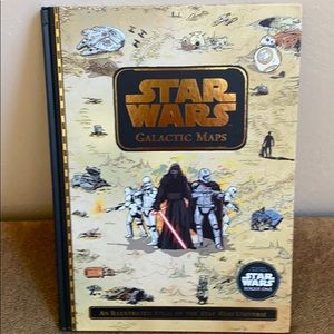 Star Wars Galactic Maps Book